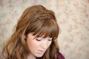 coiffure pour le nouvel an - cheveux long