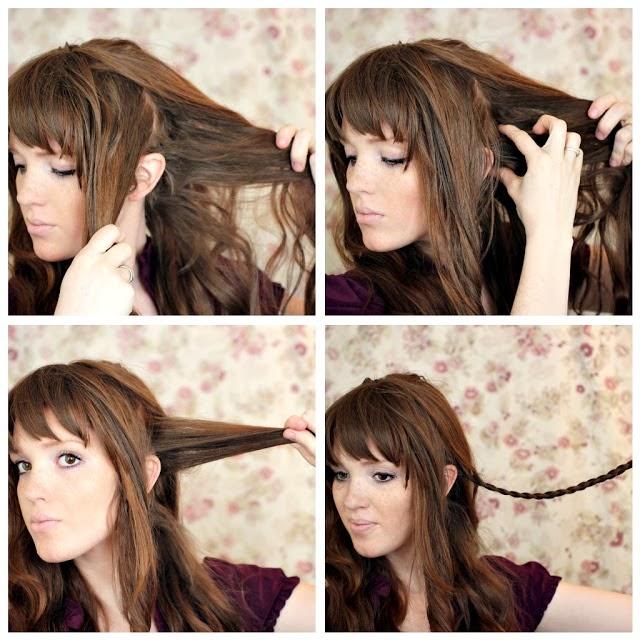 Une belle coiffure pour le nouvel an  Coiffure simple et facile