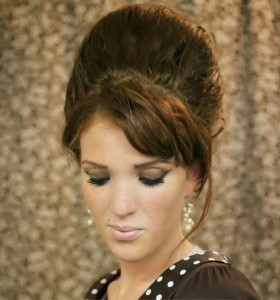 coiffure pour soirée cheveux longs - Soirée noël Modèle 2