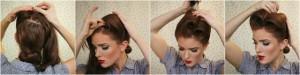 coiffure pour soirée cheveux longs - Soirée noël Modèle 4