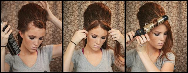 Coiffure sur cheveux long pour soiree