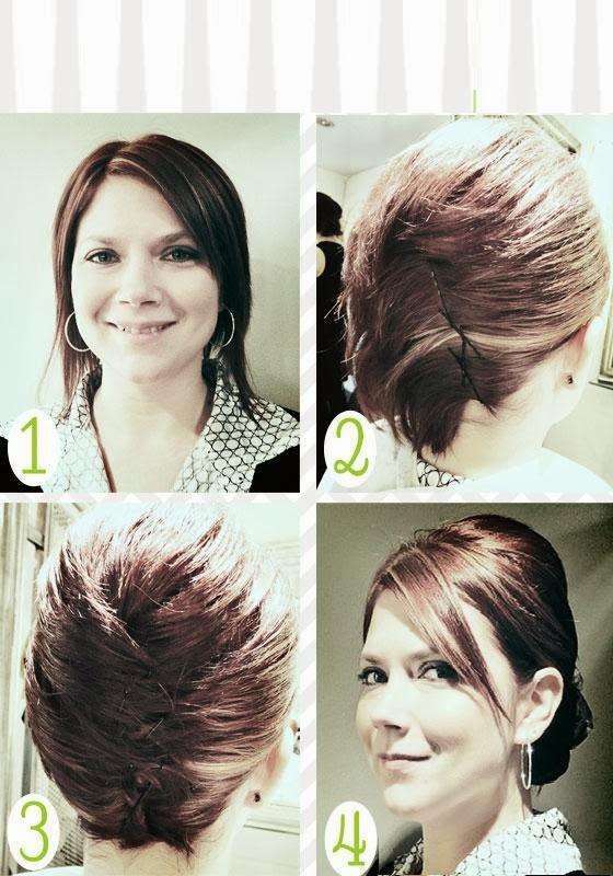 Coiffure simple et rapide cheveux courts coiffure simple - Coiffure simple et rapide cheveux court ...