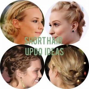 idées coiffures simples cheveux courts nouvel an