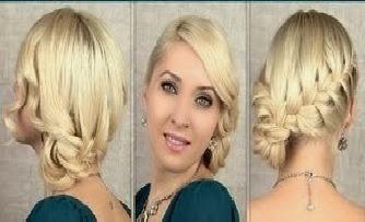 idées coiffures simples cheveux courts nouvel an | Coiffure simple ...