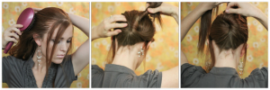 idée coiffure pour les fêtes: Fête nouvel an