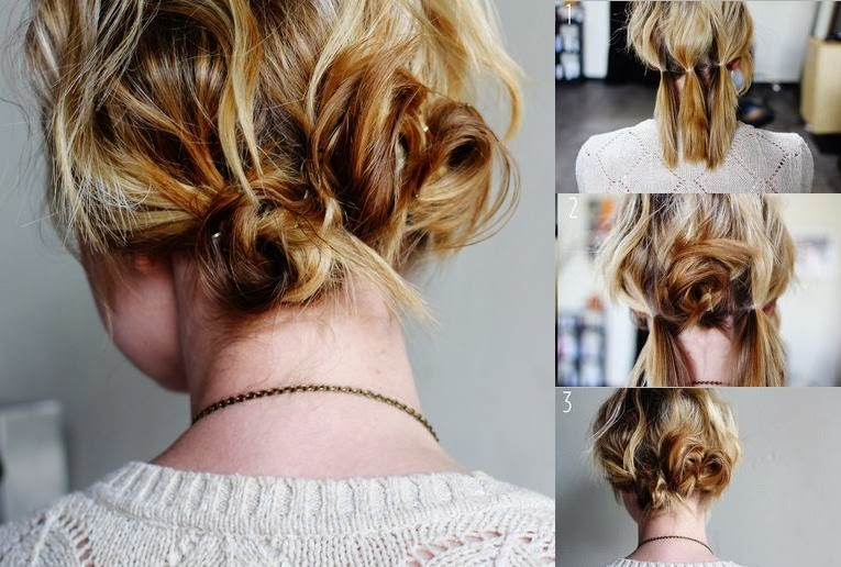 modele de coiffure simple a faire soi meme pictures to pin on