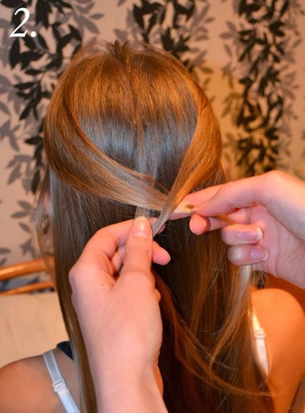 coiffure tresse cheveux longs coiffure simple et facile. Black Bedroom Furniture Sets. Home Design Ideas