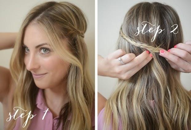 Une idée de coiffure simple