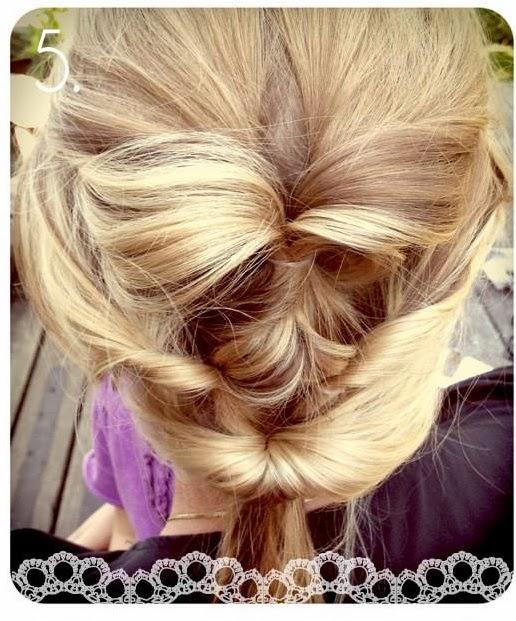 Une jolie coiffure pour soirée