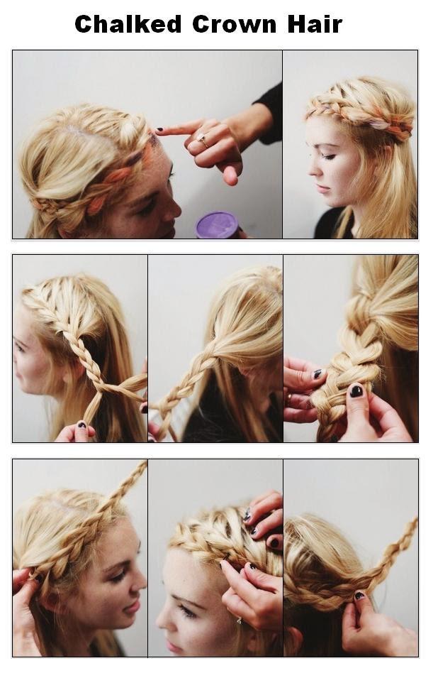 Une jolie coiffure pour printemps 2014
