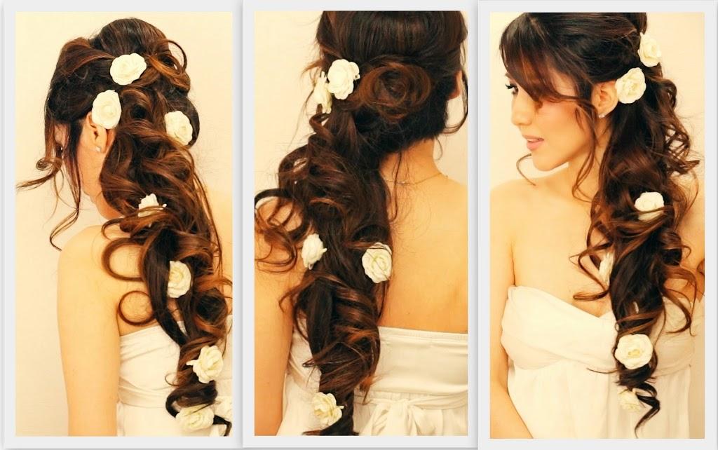 Coiffure mariée cheveux longs - Mariée 2014