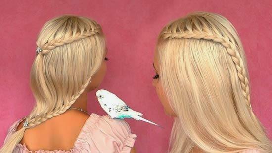 Exceptionnel Coiffure facile tresse – 5 Idées de coiffures tressées | Coiffure  NS75