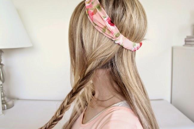 Idée de coiffure pour soirée d'été