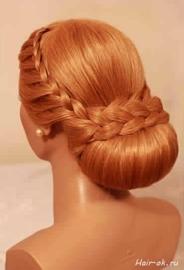 Chignon mari e 2014 coiffure de mariage tendance 2014 coiffure simple et facile - Chignon mariage simple ...