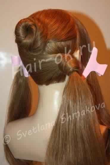 Jolie coiffure pour soirée