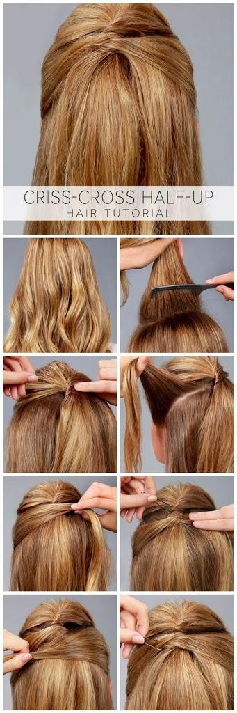 Jolies coiffures avec tresse