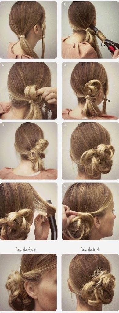 Coiffure pour petite fille mod les de coiffure pour petite fille coiffure simple et facile - Coiffure fille simple ...