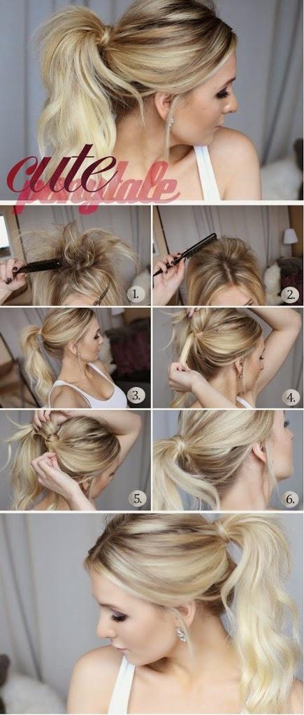 Idée de coiffure simple à faire