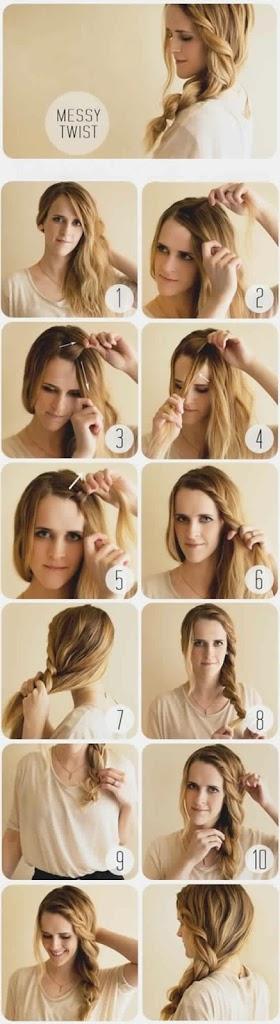 Les meilleures coiffures avec tresse