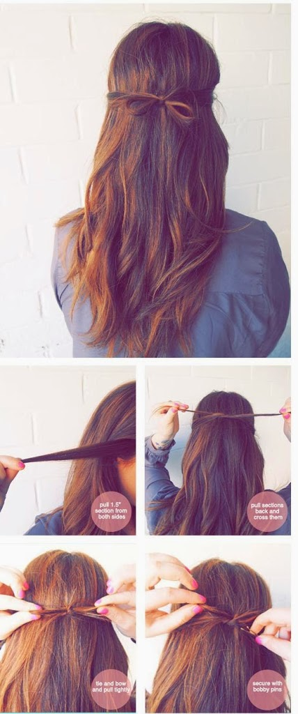 Simple coiffure facile à faire
