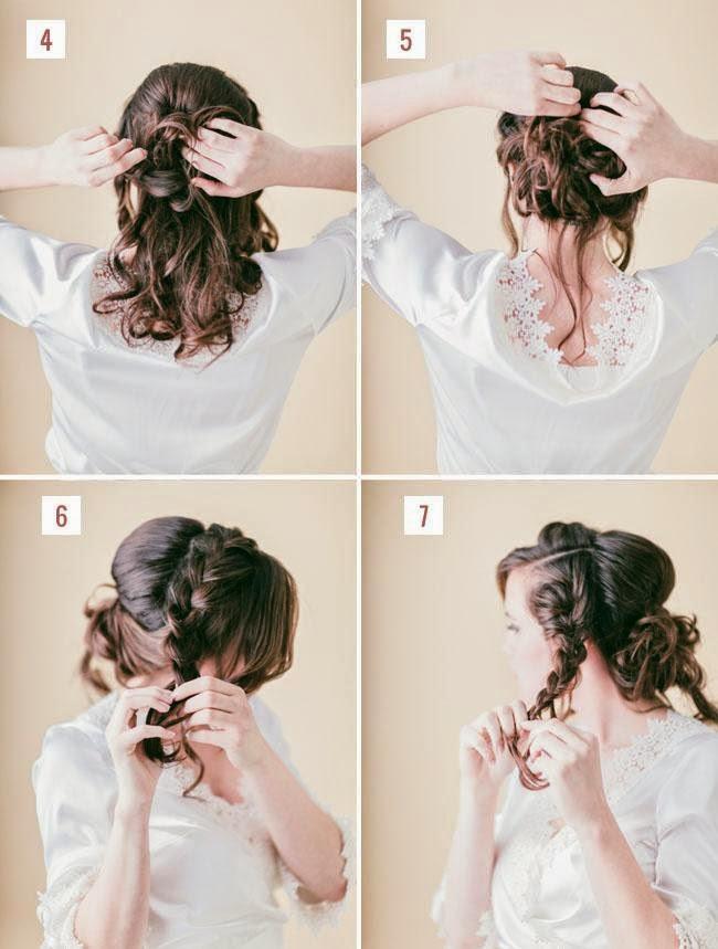 Jolie coiffure d mariage