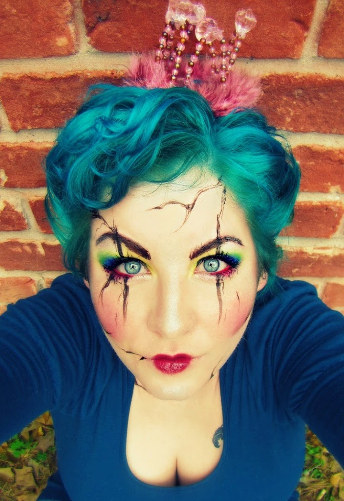 coiffure pour Halloween – Idée maquillage pour Hallowen  Coiffure ...