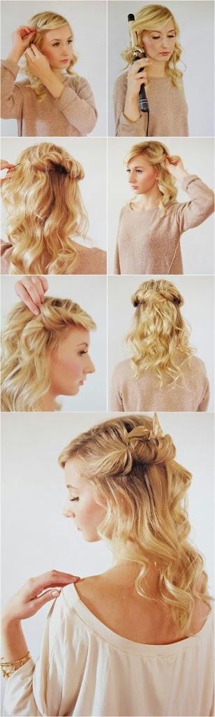10 mod u00e8les de coiffures faciles