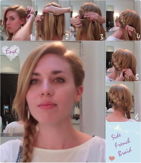 10 Modèles de coiffures faciles