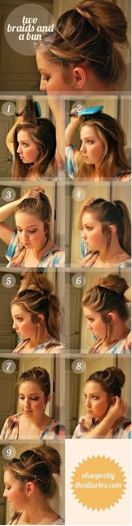 Comment réaliser une coiffure rapide et sophistiquée
