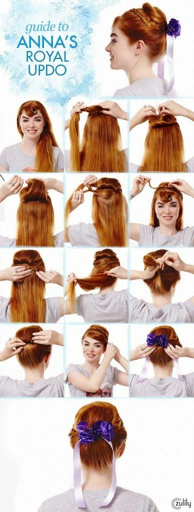 Des idées de coiffures faciles à réaliser