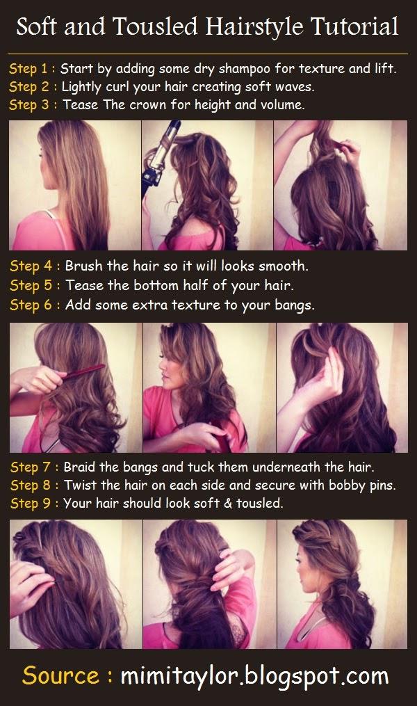 Idées de coiffures pour cheveux mi-longs
