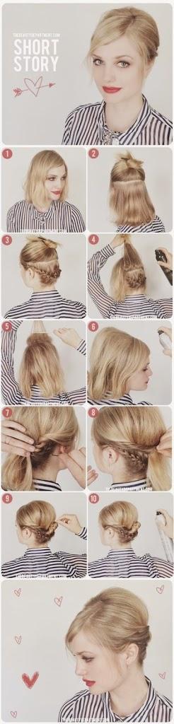 Tutoriel coupe de cheveux court femme