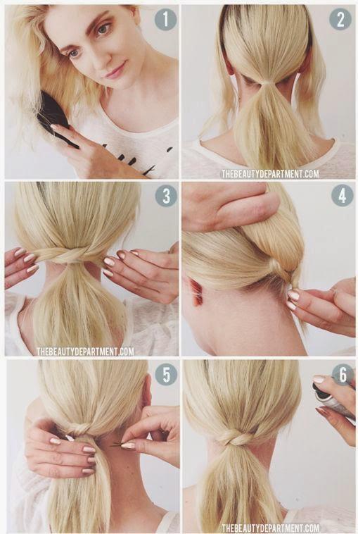 Tutoriel coiffure simple et rapide