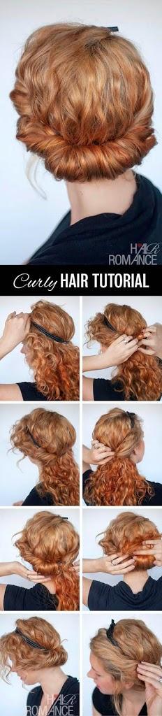 Idées de coiffures pour cheveux bouclés