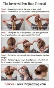 Idées coiffures simples et belles