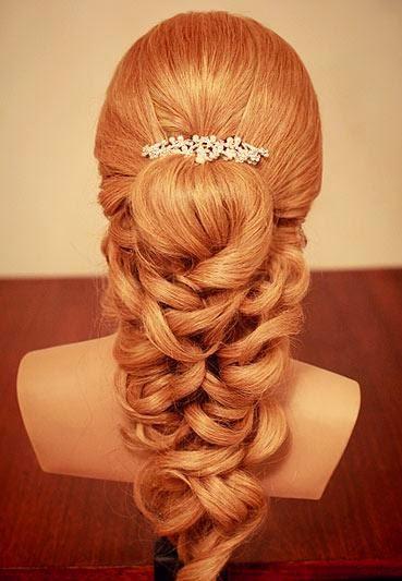 Les étapes pour une très belle coiffure de mariage | Coiffure ...