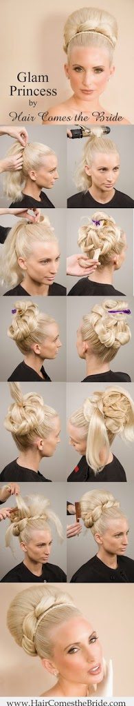Coiffure mariage simple 2015