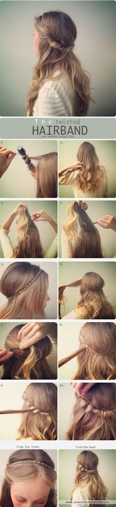 Coiffure pour cheveux long 2015