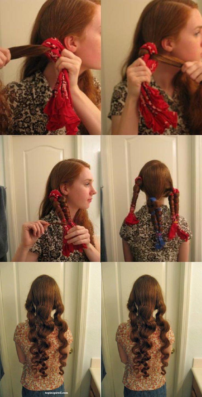 10 Techniques Faciles Pour Boucler Vos Cheveux