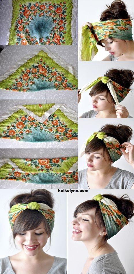 coiffure,foulard,1