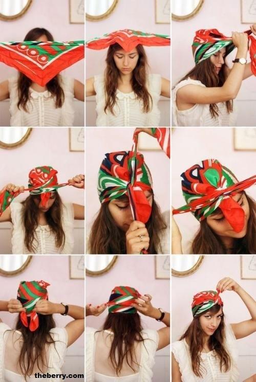 coiffure,foulard,9