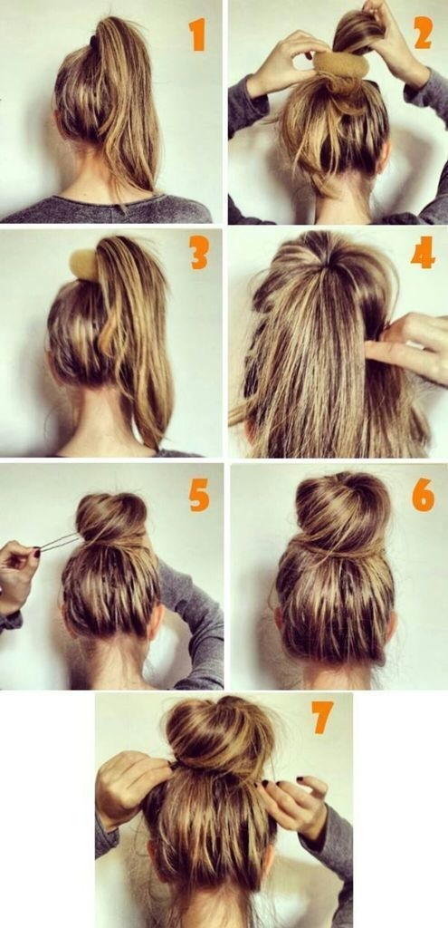 Quick Hairstyles For Short Hair In The Morning : TAGS coiffure facile coiffure pour tous les jours coiffure simple et ...