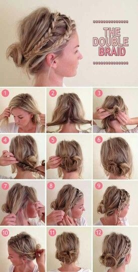 Comment s attacher les cheveux mi long