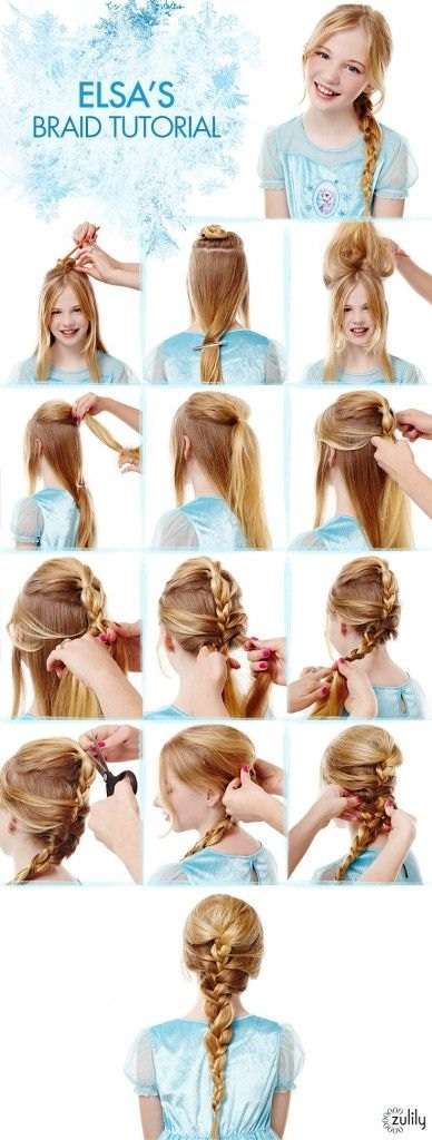 20 Coiffures Magnifiques Que Vous Pouvez Faire Pour Votre - Step By Step Hairstyles For School Girls
