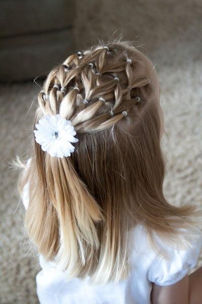 20 coiffures magnifiques que vous pouvez faire pour votre petite fille coiffure simple et facile. Black Bedroom Furniture Sets. Home Design Ideas