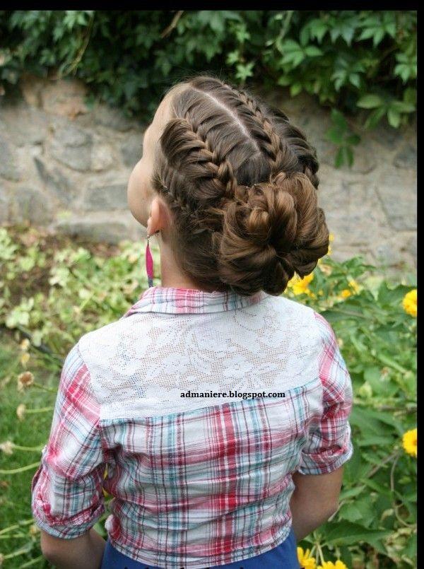 coiffure enfant pour mariage