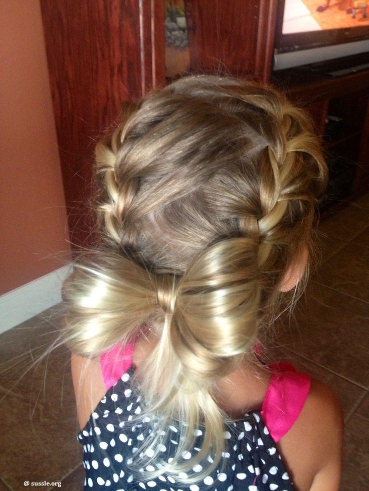 20 coiffures magnifiques que vous pouvez faire pour votre petite fille coiffure simple et facile - Coiffure fille simple ...