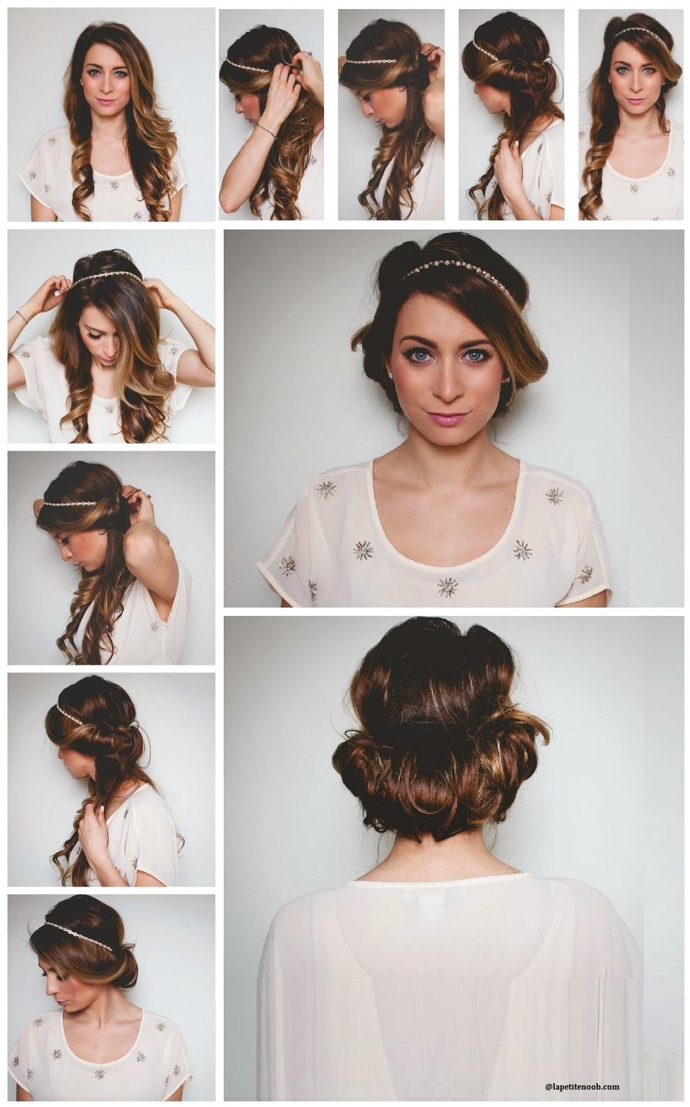 Coiffure simple et belle coiffure simple et facile - Coiffure soiree simple ...