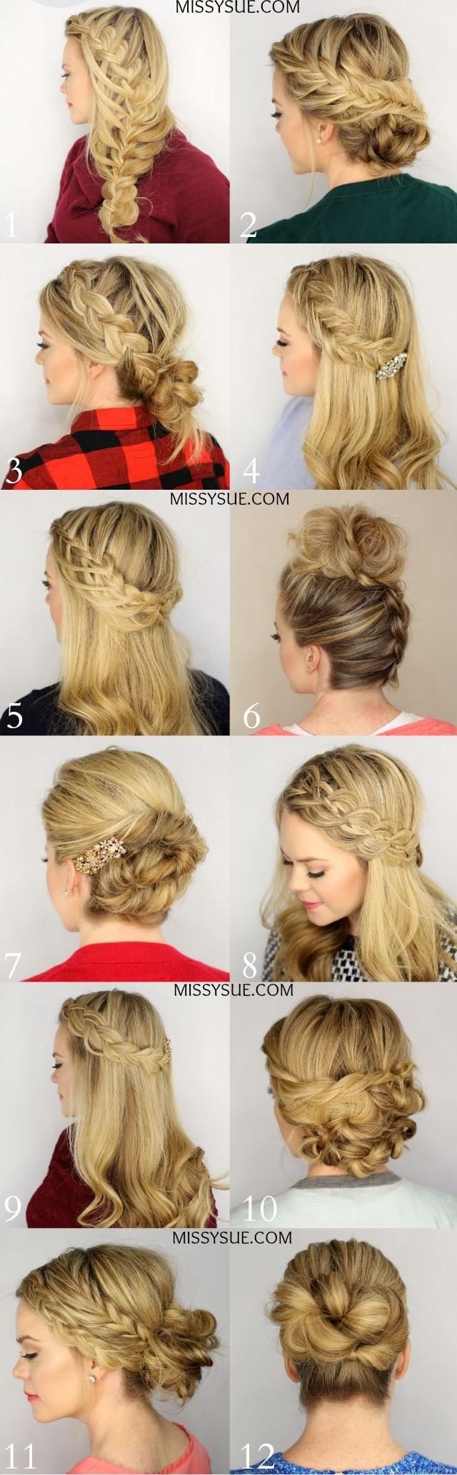 Les coiffures tress es plus de 50 mod les de coiffures avec tresses pour vous coiffure for Comcoiffure avec tresse facile