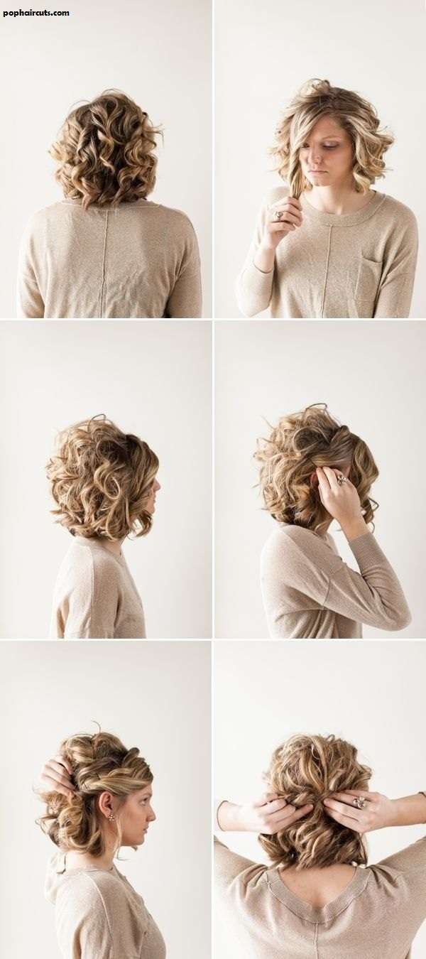 30 Styles De Coiffures Magnifiques Pour Les Cheveux Bouclés ...